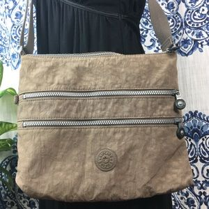 KIPLING tan crossbody bag